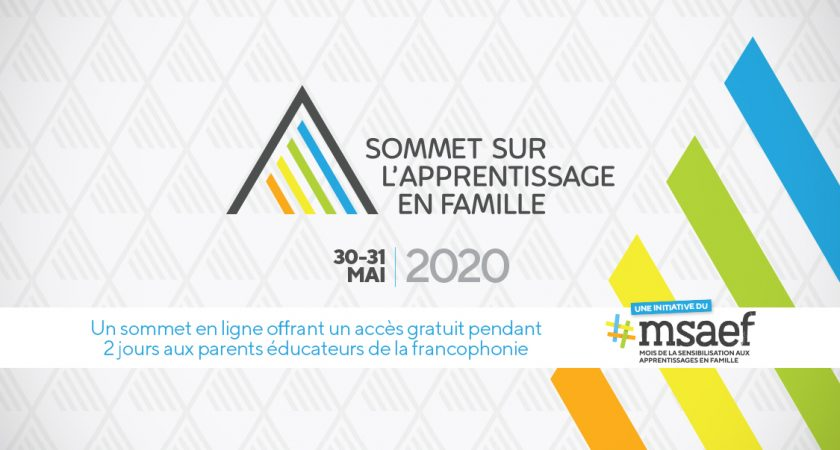 Recherche de partenaires pour le tout premier Sommet sur l'apprentissage en famille